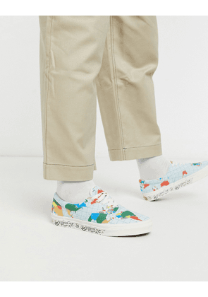 Vans Era Save Our Planet trainers in classic white