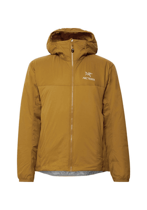 Arc'teryx - Atom Lt Logo-embroidered Shell Hooded Jacket - Gold