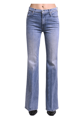 Doozy Flared High Rise Cotton Jeans