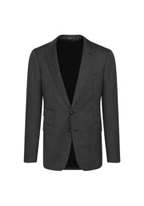 Charcoal Grey Wool Marbeuf Single-Breasted Suit