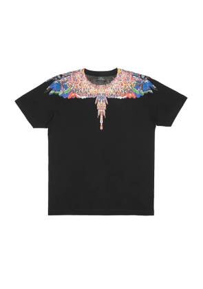 MARCELO BURLON Multicolor Wings t-shirt Men Size L EU