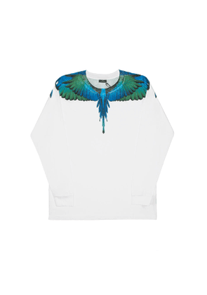 MARCELO BURLON Wings ls tee Men Size L EU