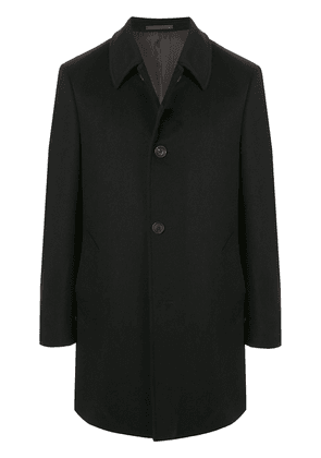 Gieves & Hawkes single breasted formal coat - Blue