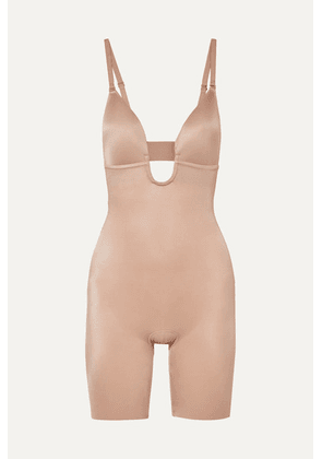 Spanx - Suit Your Fancy Stretch-jersey Bodysuit - Sand