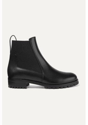 Christian Louboutin - Machcroche Leather Chelsea Boots - Black