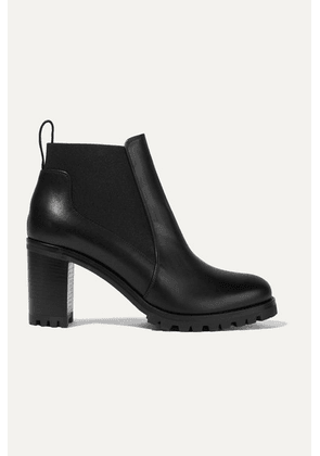 Christian Louboutin - Marchacroche 70 Leather Ankle Boots - Black