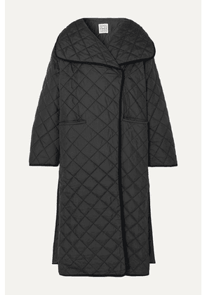 Totême - Annecy Oversized Quilted Shell Coat - Black