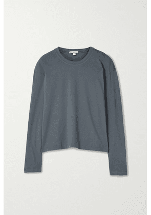 James Perse - Supima Cotton-jersey Top - Gray