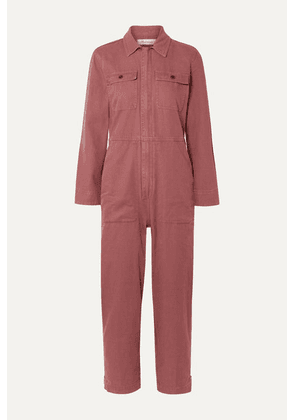 Madewell - Holiday Denim Jumpsuit - Brick