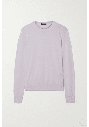 Theory - Wool-blend Sweater - Lilac