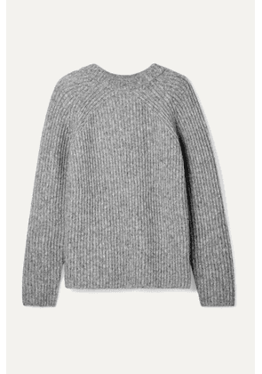 Helmut Lang - Ghost Ribbed-knit Sweater - Gray