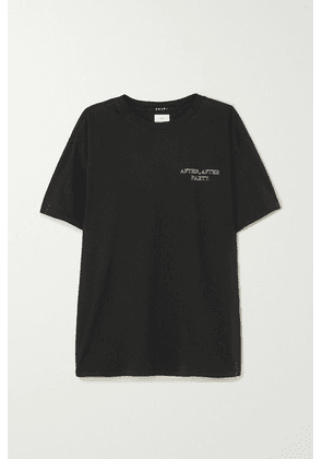Ksubi - After, After Party Printed Cotton-jersey T-shirt - Black