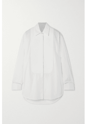 Givenchy - Crystal-embellished Cotton-poplin Shirt - White