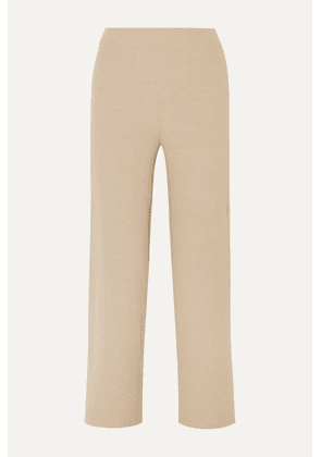 Nanushka - Sense Ribbed-knit Pants - Beige