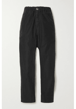 Bassike - Cotton Track Pants - Black