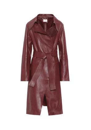 Exclusive to Mytheresa – Modern Volumes leather coat