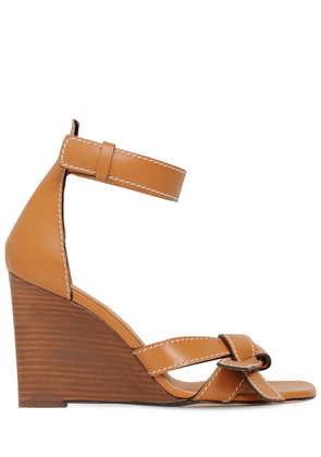 100mm Leather Sandals