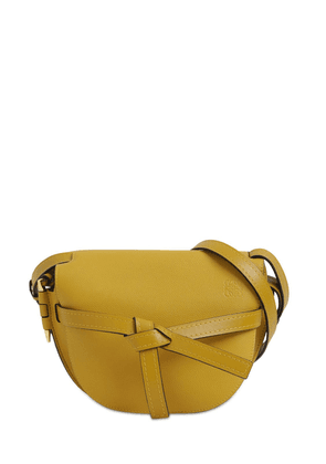 Gate Small Grained Leather Bag