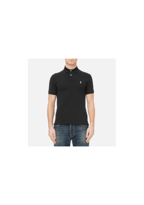 Polo Ralph Lauren Men's Slim Fit Short Sleeved Polo Shirt - Polo Black - L