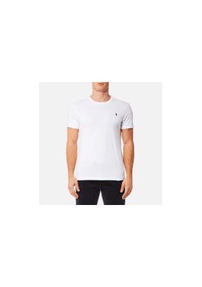 Polo Ralph Lauren Men's Custom Fit Crew Neck T-Shirt - White - M