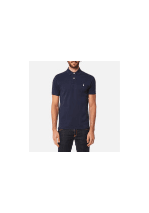 Polo Ralph Lauren Men's Custom Fit Polo Shirt - Newport Navy - M