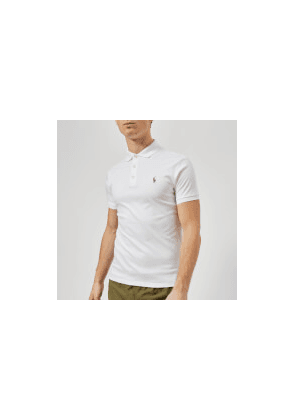 Polo Ralph Lauren Men's Slim Fit Pima Polo Shirt - White - S