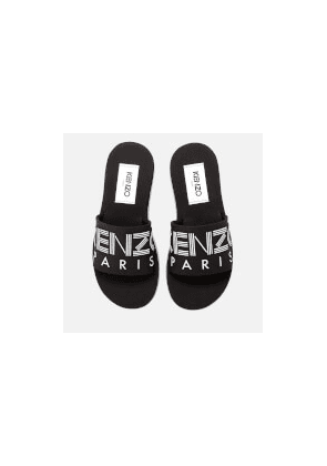 KENZO Women's Papaya Slide Sandals - Black - UK 4/EU 37 - Black