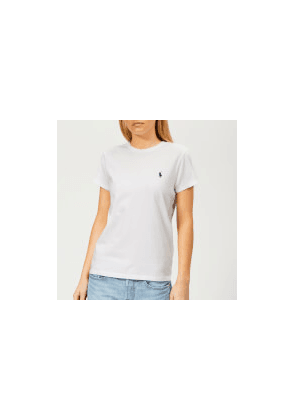 Polo Ralph Lauren Women's Logo T-Shirt - White - L - White