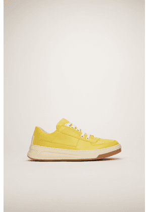 Acne Studios Steffey Lace Up Yellow/white  Lace-up sneakers