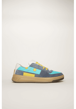 Acne Studios Perey Lace Up Em Blue/turquoise/beige  Lace-up sneakers