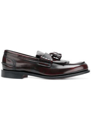 Church's mocassin loafers - Red