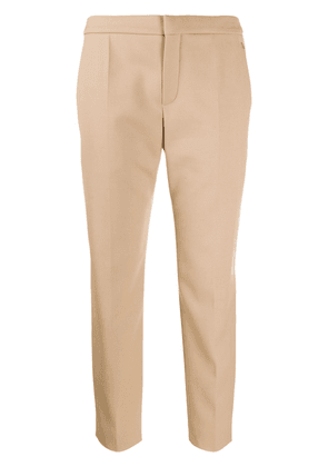 Chloé cropped trousers - NEUTRALS