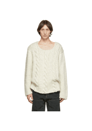 Jacquemus Off-White La Maille Berger Sweater