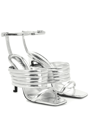 Tunnel Strap leather sandals