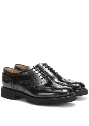 Carla leather brogues