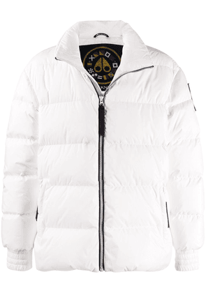 Moose Knuckles Maginot oversized puffer jacket - White