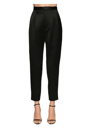 High Waist Satin Pants