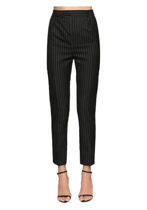Classic Pinstripe Cool Wool Pants