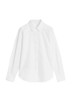 Oxford Pinpoint Shirt - White