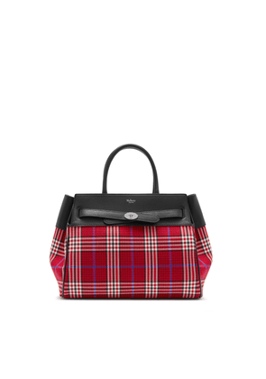 Mulberry Belted Bayswater in Scarlet Tartan Check