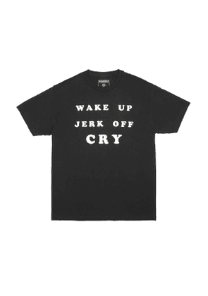 PLEASURES Wake up t-shirt Men Size L EU