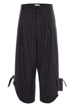 JW Anderson HEM BOW TROUSERS - Blue