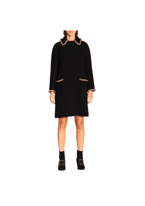 Coat Coat Women Moschino Couture