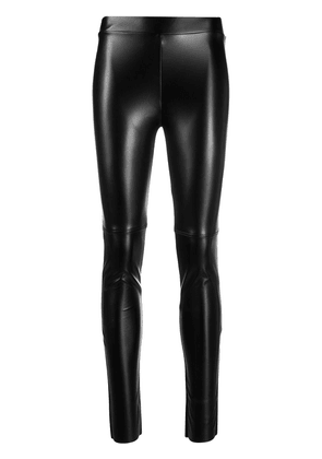 Wolford Estella faux leather leggings - Black