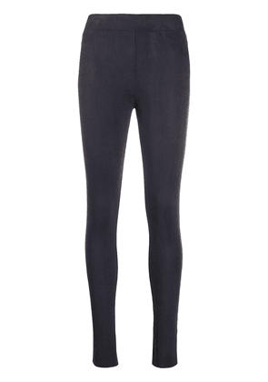 Wolford Velour adjustable leggings - Blue