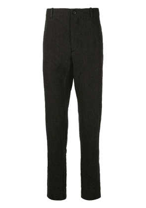 Forme D'expression tailored straight leg trousers - Black