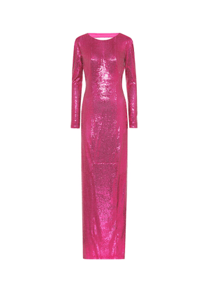 Exclusive to Mytheresa – Sequined gown