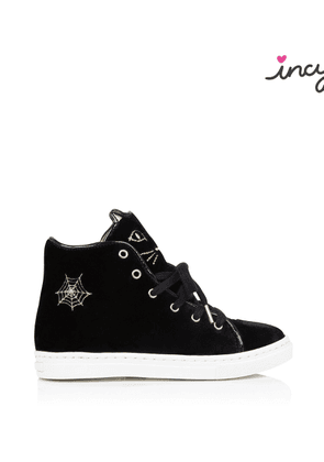 Charlotte Olympia Sale Women - INCY PURRRFECT HIGH TOPS BLACK Velvet 27