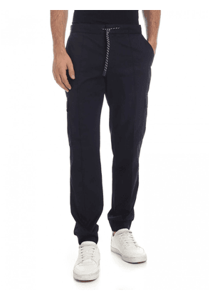 Z Zegna Trousers in Blue