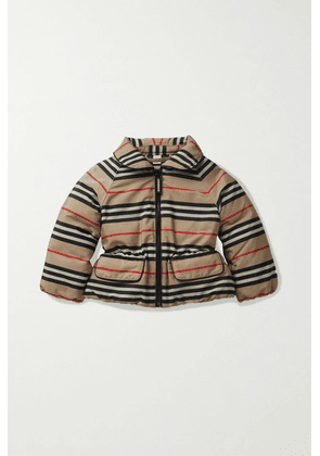 Burberry Kids - Months 6 - 24 Printed Shell Down Jacket